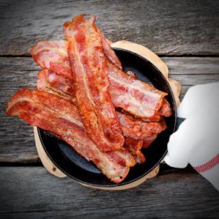 Luksus Bacon i skiver - 1KG.