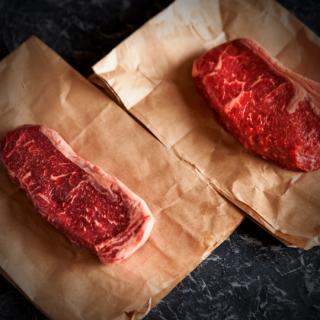0,8-0,9kg Chef's Exclusive Striploin steaks 2stk