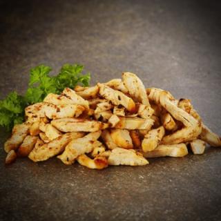 Stegte kyllinge strimler 2.5kg