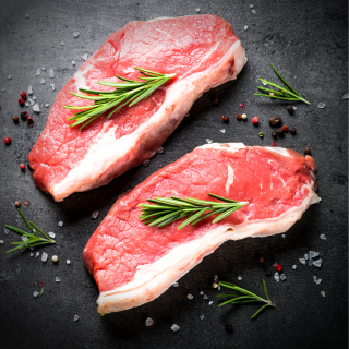 Brasiliansk Striploin steaks - 2x250 gram