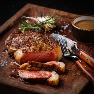 0,9-1,0kg Creekstone Farms Striploin steaks 2stk
