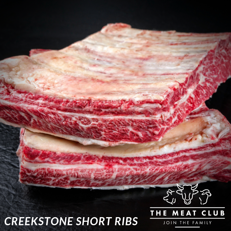 creekstone- arms short ribs